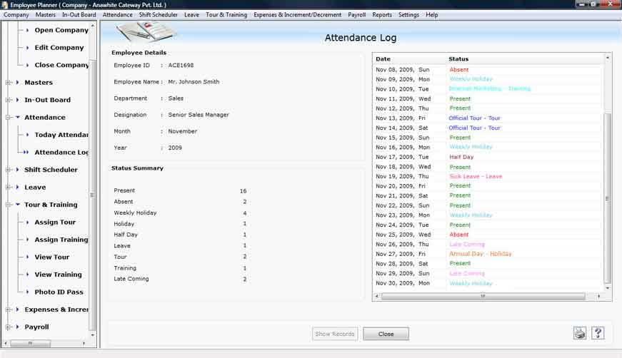Windows 7 Staff Scheduling Software 4.0.1.5 full